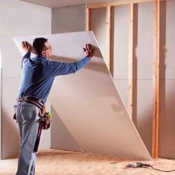 Монтаж древесины на стену и потолок