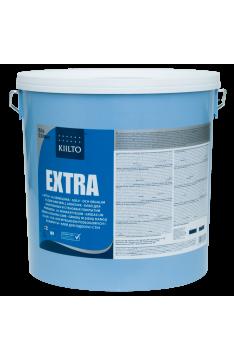 Kiilto Extra Акриловый дисперсионный клей для ПВХ, ковровых и текстильных покрытий, 17 кг